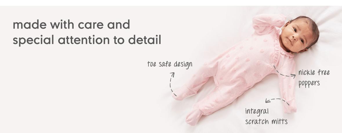 "DIY Rosebud 14.5/"" Reborn Doll Parts Kit"